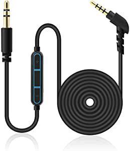 画像: Amazonで現在の価格を見る   LANMU イヤホン 音量調節 ボリューム調節 3.5mm ヘッドホン 延長コード1M ボリュームコントローラー ダイヤル付き