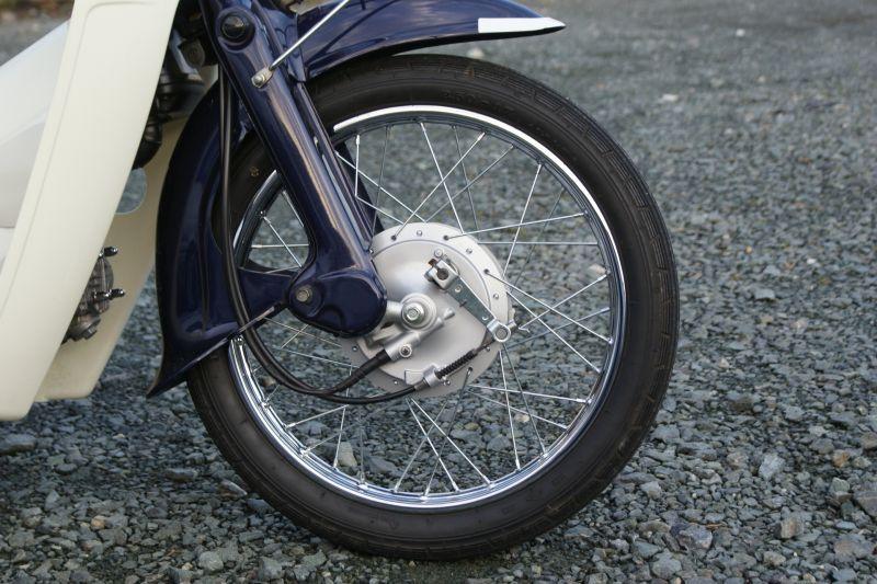 画像: 【ホンダ純正流用ブレーキ強化】スーパーカブ 大径ドラムブレーキセット(通称デカドラム)