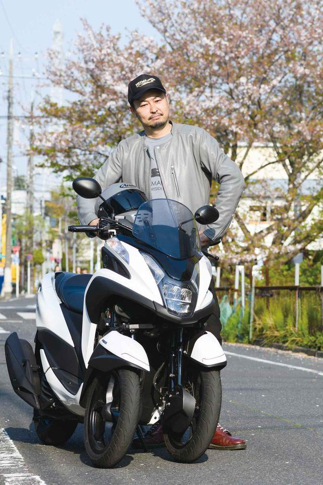 画像: 私、『オートバイ』『RIDE』の編集長です。過去にはスクーター専門誌の編集長だったことも。身長が180㎝以上あるので車体の大きさを気にしがち。