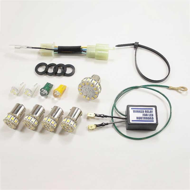 画像: ウインカー・テール・メーターランプLED化キット スーパーカブ50 E型〜/70・90 G型〜A020)-アウトスタンディングモーターサイクル