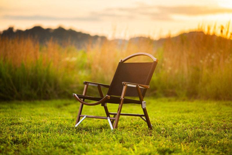 画像: Black Chair   Kermit Chair Company   Folding Camping Chairs chair event links logo news press video instagram