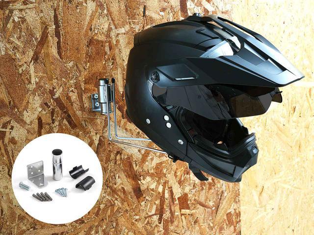 画像2: ヘルメットの保管に困っている方、これはどう? 単体で壁にも装着可能!