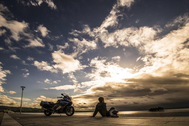 画像4: 東京から800km先の島根県、深夜の出発で宍道湖の夕日を狙う!