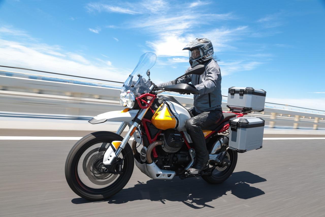 画像: 伝統の縦置きVツインが生み出すアドベンチャーの新境地! モトグッツ「V85TT」試乗インプレ&解説 - webオートバイ