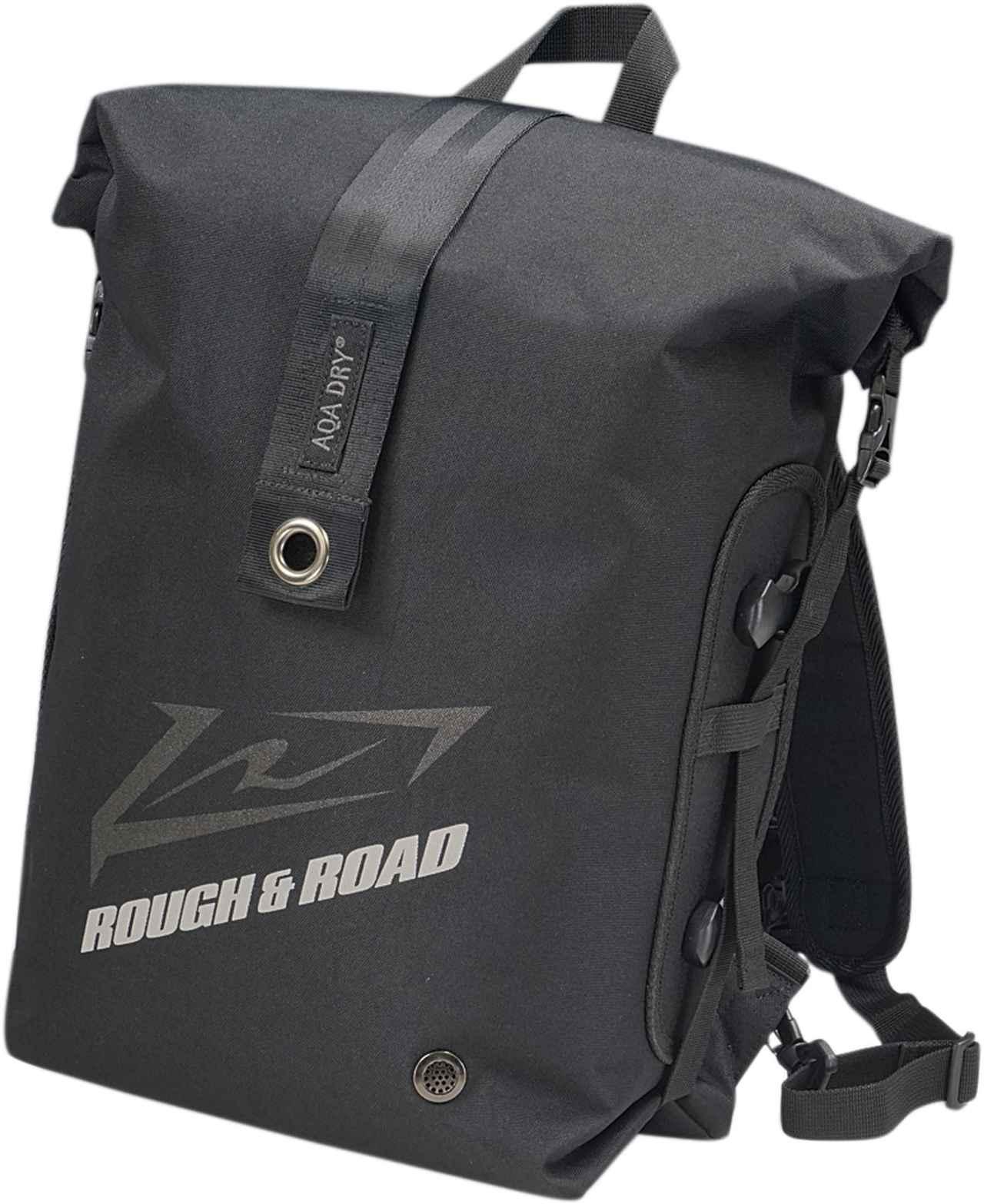 画像3: 防水リュック?防水シートバッグ?正解は両方です! コスパ良好、便利なバイク用防水バッグがラフ&ロードから新登場
