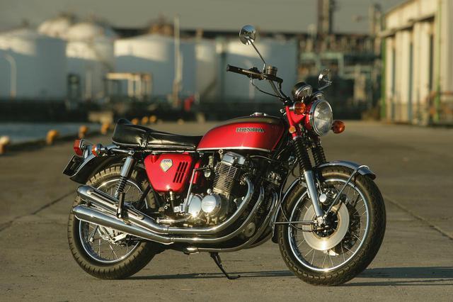 画像: HONDA CB750Four (K0) 総排気量:736cc 発売年:1969年5月 当時の価格:38万5000円