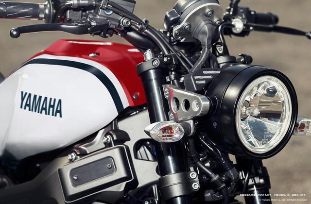 画像: ヤマハ「XSR900 ABS」に、1980年代をイメージさせる新色が登場 - webオートバイ