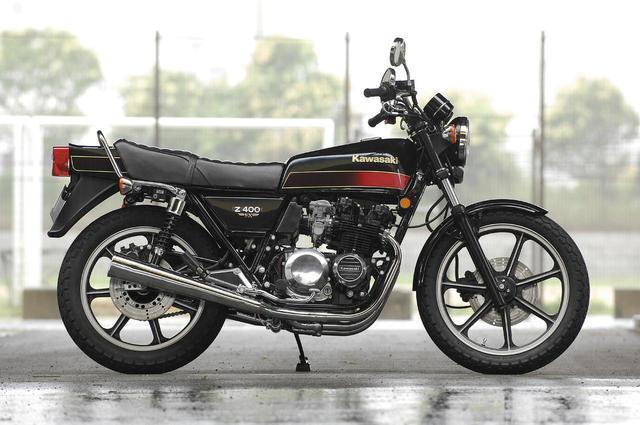 画像: KAWASAKI Z400FX/発売年:1979年