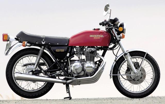 画像: Honda CB400FOUR/発売年:1974年