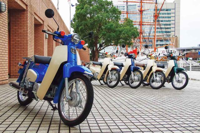 画像: Honda SUPER CUB 110 総排気量:109cc 最高出力:8.0PS/7500rpm 最大トルク:0.87kg-m/5500rpm 2020年モデルの発売日:2020年5月22日(この記事の写真は2019年までのモデル) メーカー希望小売価格(税込):28万500円