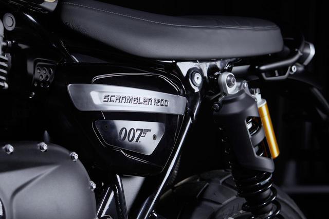 画像: サイドカバーにも「007」のロゴが。仕上げも美しい!