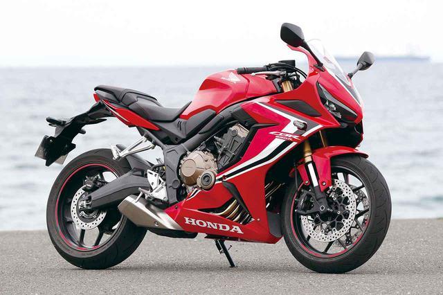 画像: Honda CBR650R メーカー希望小売価格(消費税10%込):グランプリレッド108万9,000円/マットバリスティックブラックメタリック105万6,000円
