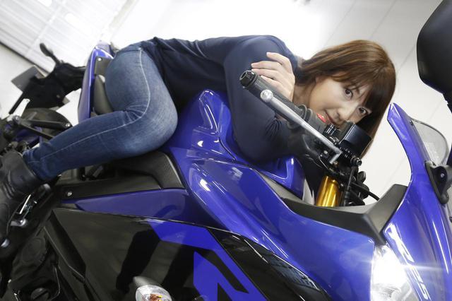 画像1: 大関さおり × ヤマハ「YZF-R25」最高速チャレンジ【オートバイ女子部のフォトアルバム】