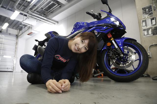 画像4: 大関さおり × ヤマハ「YZF-R25」最高速チャレンジ【オートバイ女子部のフォトアルバム】