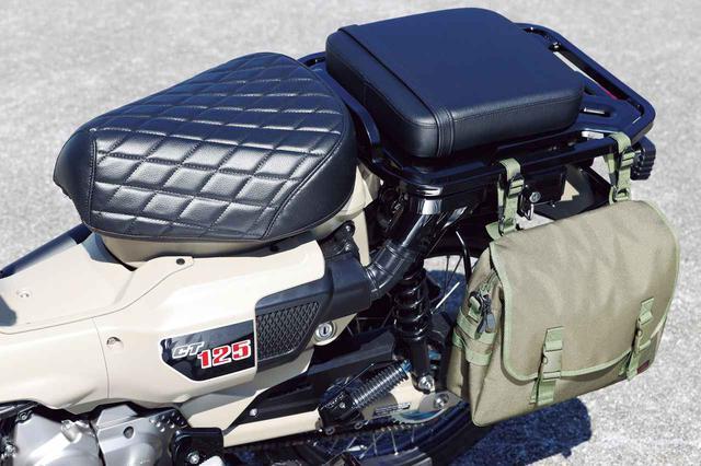 画像: ホンダ「CT125・ハンターカブ」は2人乗りもできる! カスタムサンプル〈ストリート スタイル〉はモリワキのマフラーにも注目 - webオートバイ