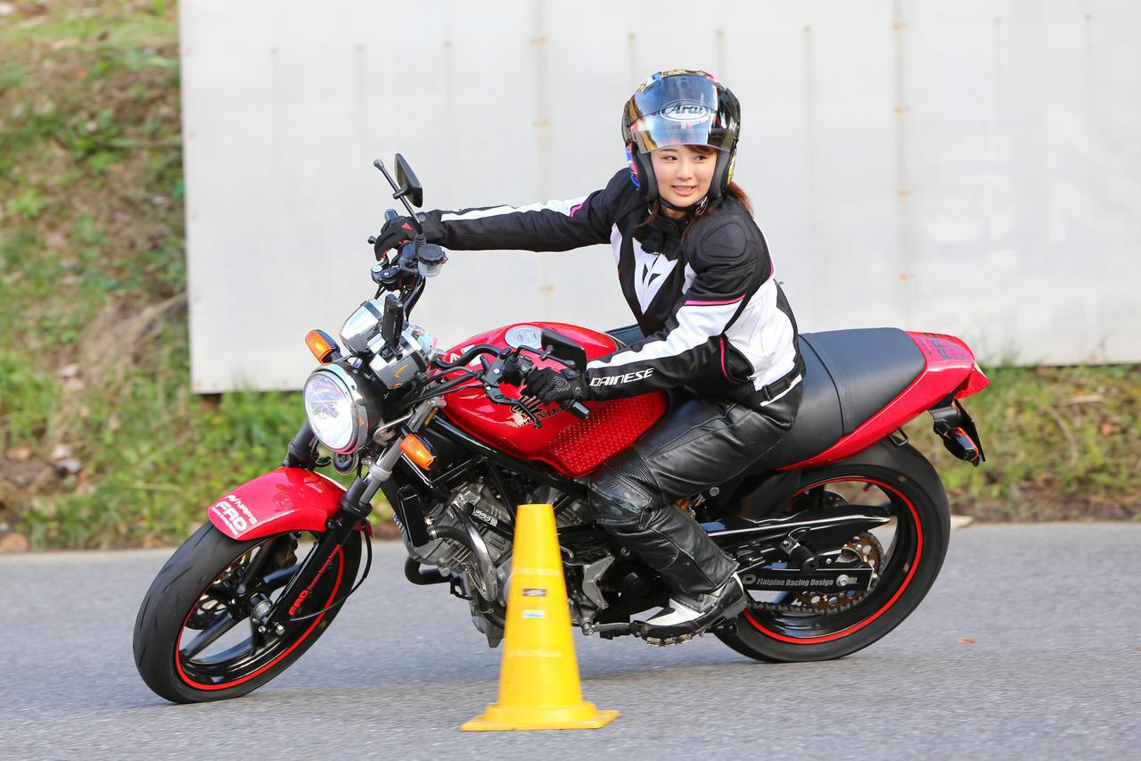 画像: 平嶋夏海がYouTubeでライディングレッスン!「おしえて♡なっちゃん先生」スタート! - webオートバイ