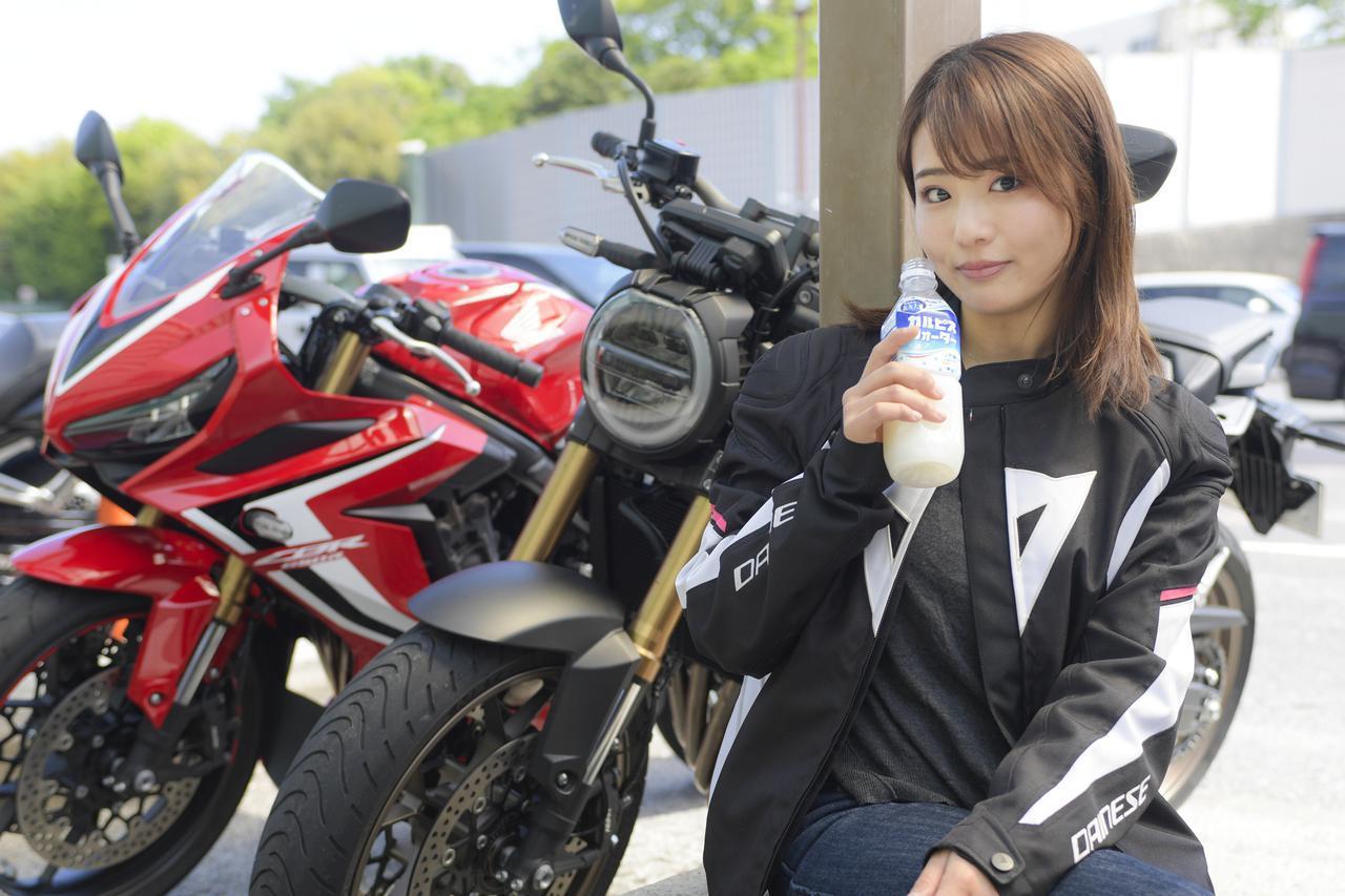 画像6: 平嶋夏海 × ホンダ「CB650R」【オートバイ女子部のフォトアルバム】