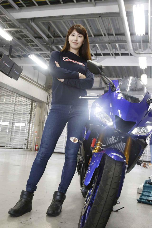 画像3: 大関さおり × ヤマハ「YZF-R25」最高速チャレンジ【オートバイ女子部のフォトアルバム】
