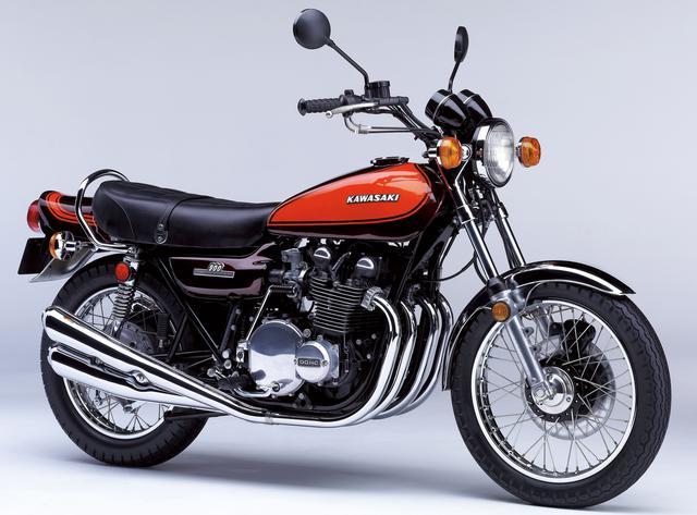 画像: KAWASAKI 900SUPER4(Z1) 総排気量:903cc 発売年月:1972年11月