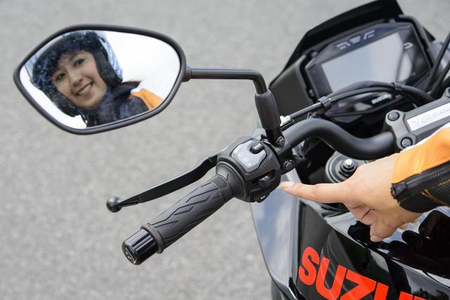 画像1: 大関さおり × スズキ「KATANA」【オートバイ女子部のフォトアルバム】
