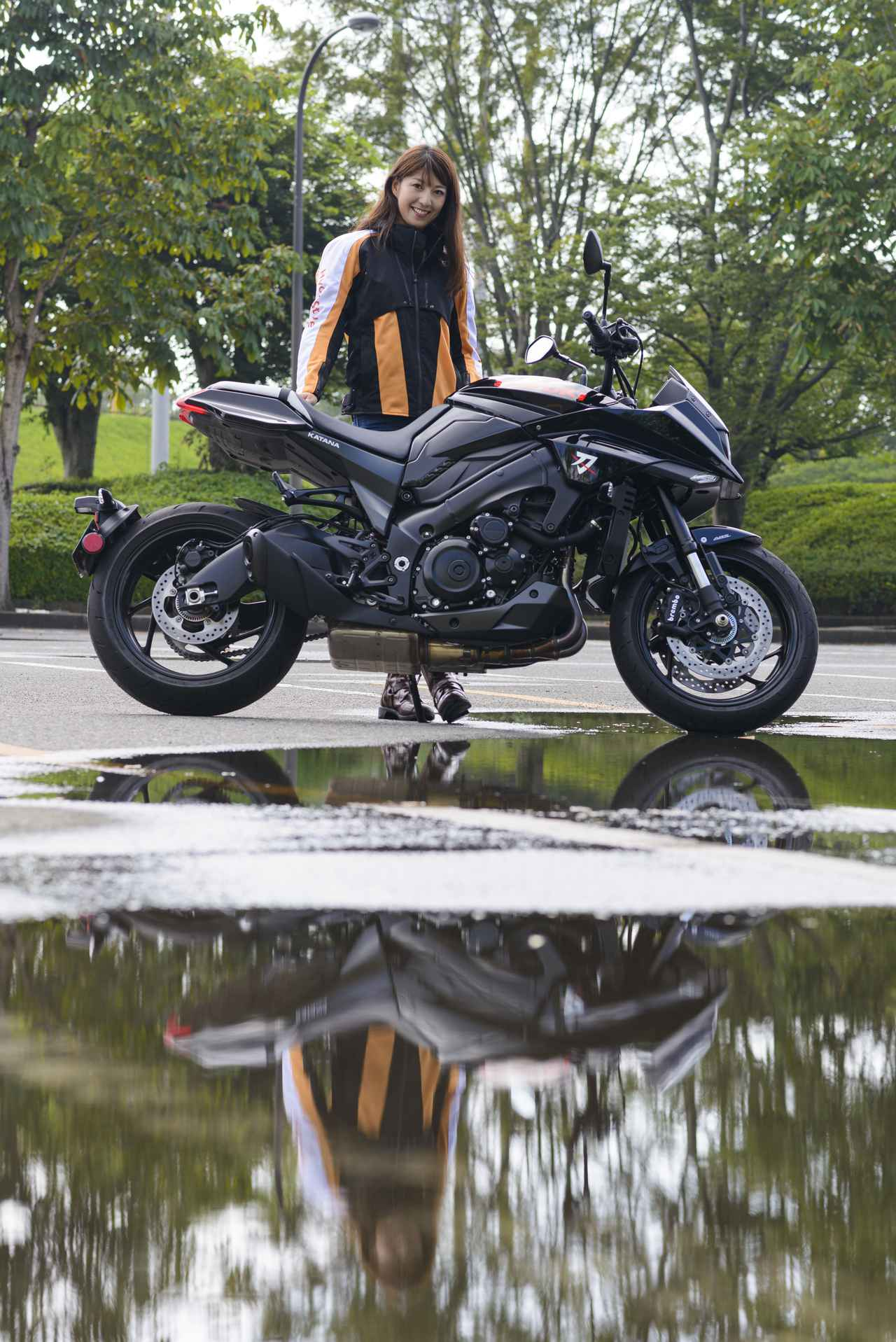 Images : 7番目の画像 - 大関さおり × スズキ「KATANA」 - LAWRENCE - Motorcycle x Cars + α = Your Life.