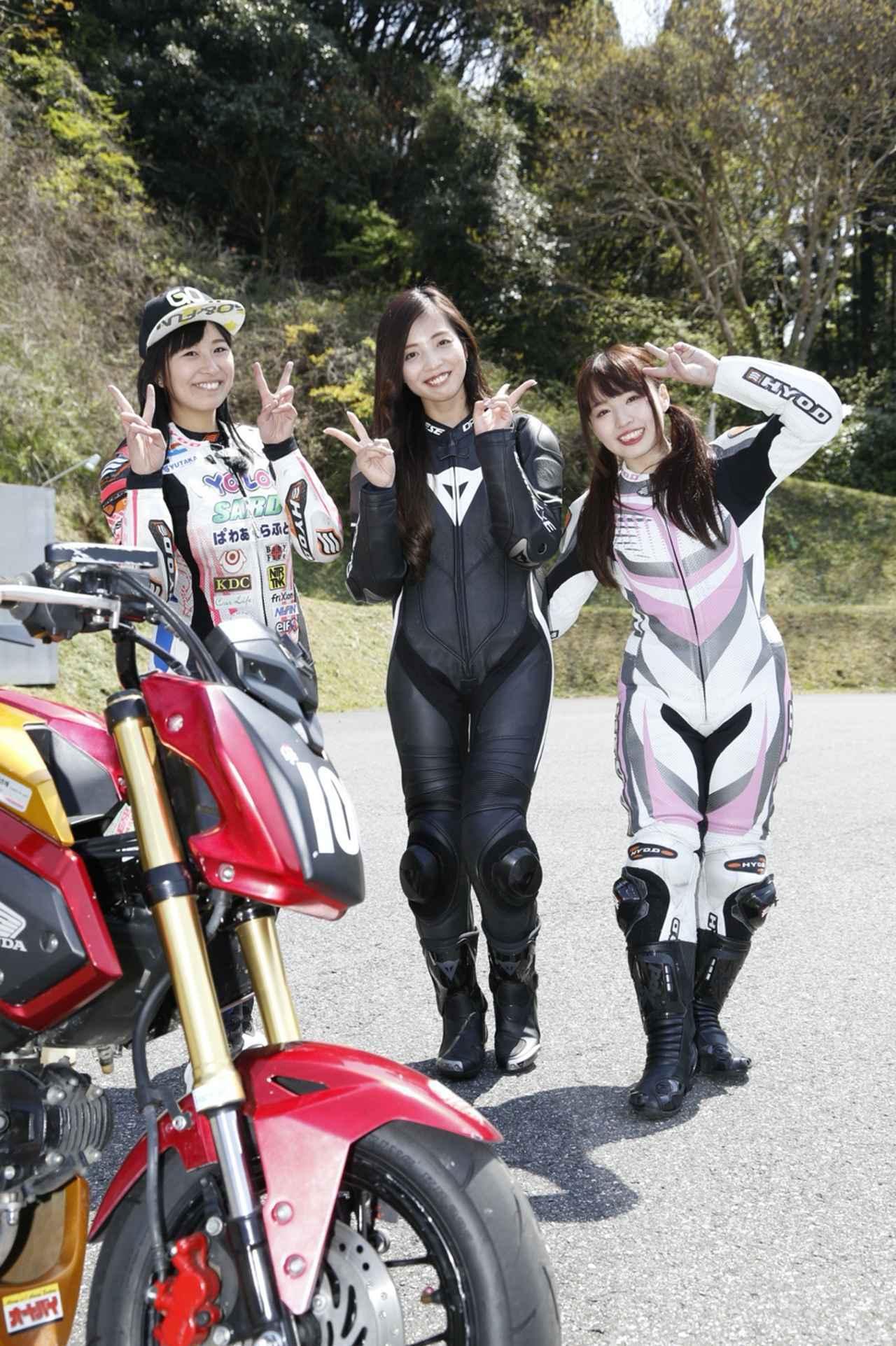 画像: 左から静夏先生、Rurikoちゃん、わたし。