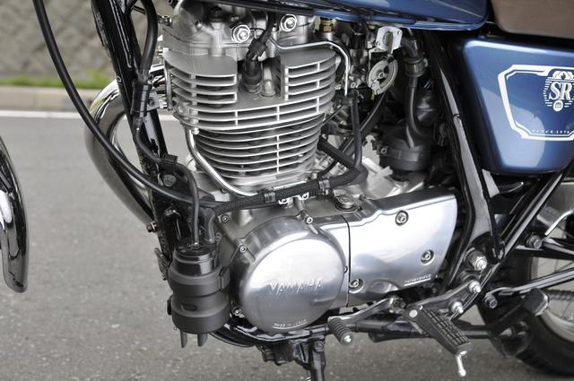 画像2: SR400の魅力はエンジンにあり!ですが……