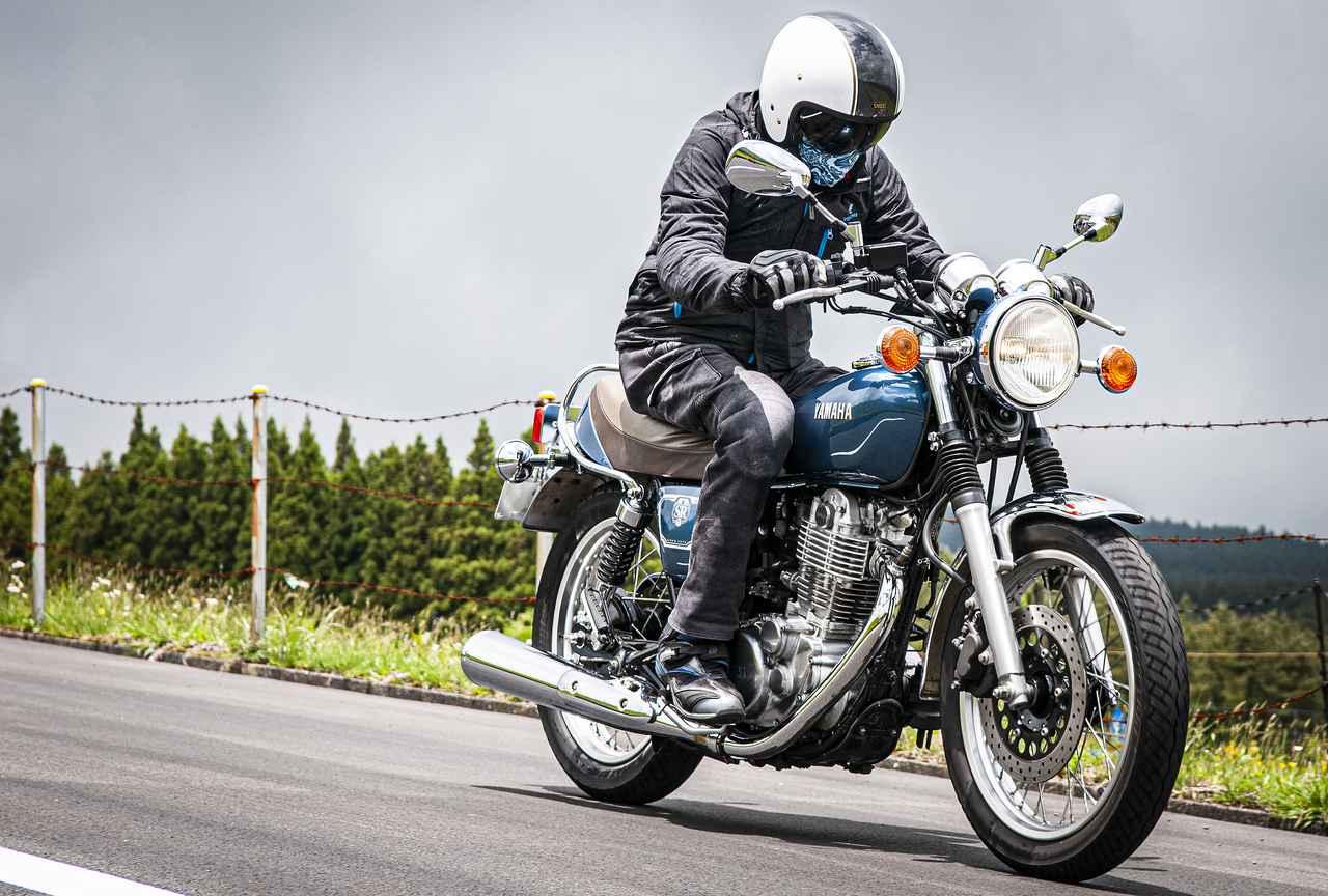 画像2: SR400は、時間と切り離されるバイク