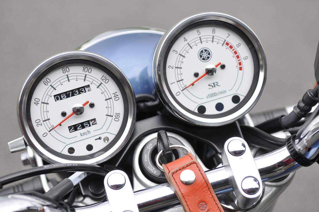 画像1: SR400は、時間と切り離されるバイク