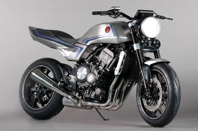 画像: Honda CB-F CONCEPT Hondaバーチャルモーターサイクルショー参考出品車