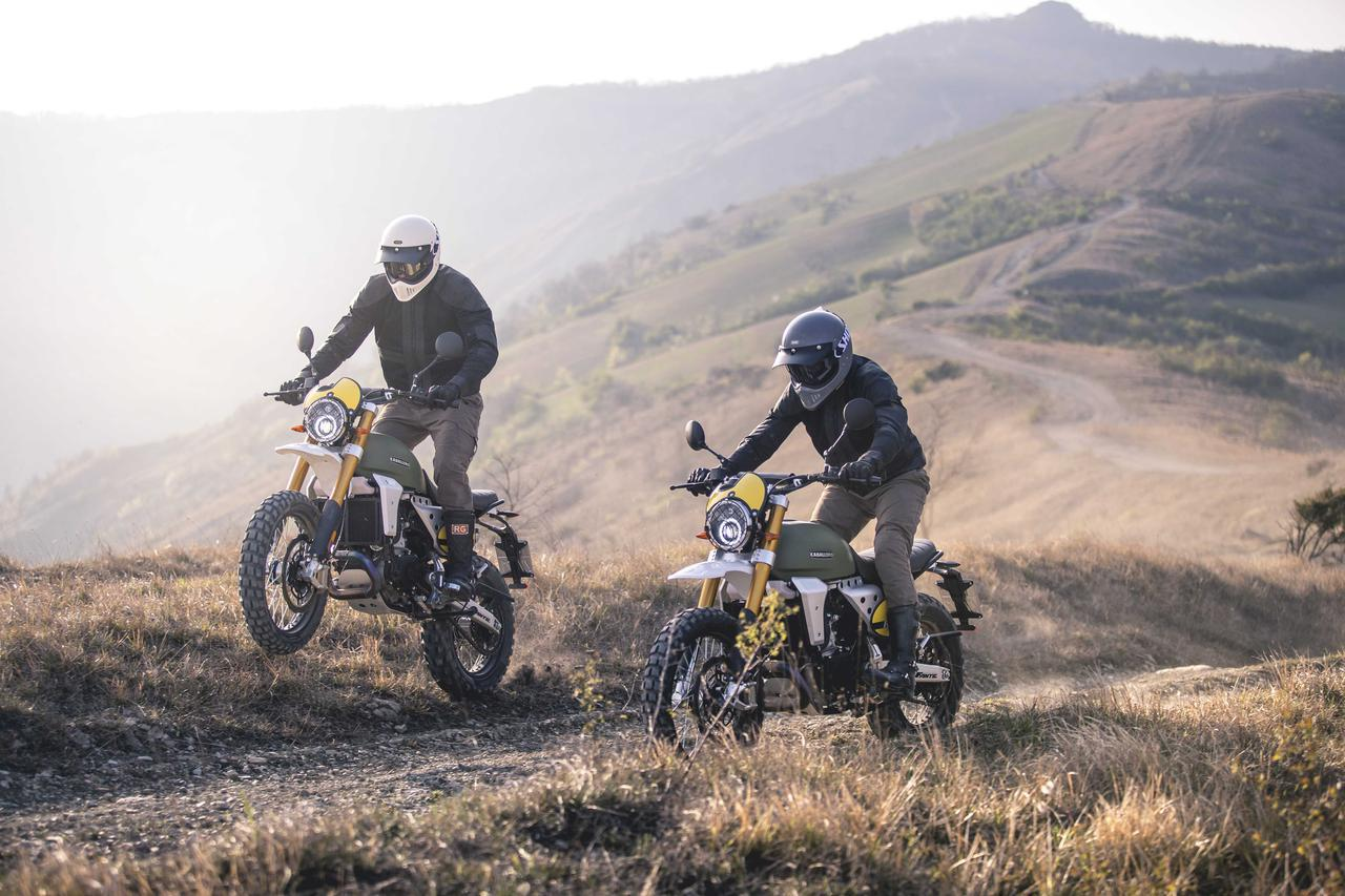 画像: CABALLEROシリーズに真打登場。オフロード性能を伸ばした「RALLY 500」 - webオートバイ