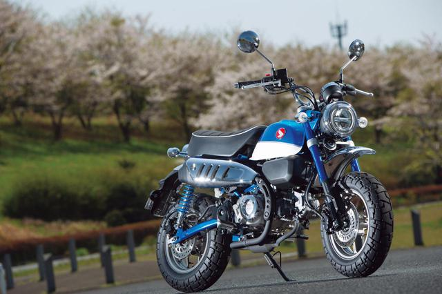 画像: Honda Monkey125 総排気量:124cc メーカー希望小売価格(税込):40万7000円(ABS仕様車は44万円)
