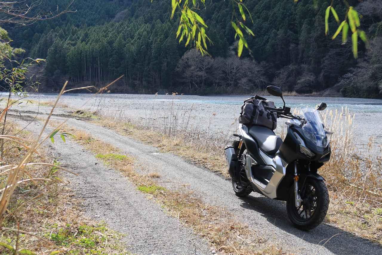 画像3: 「ADV150」は高速道路も快適! 長旅でこそ光るその万能性