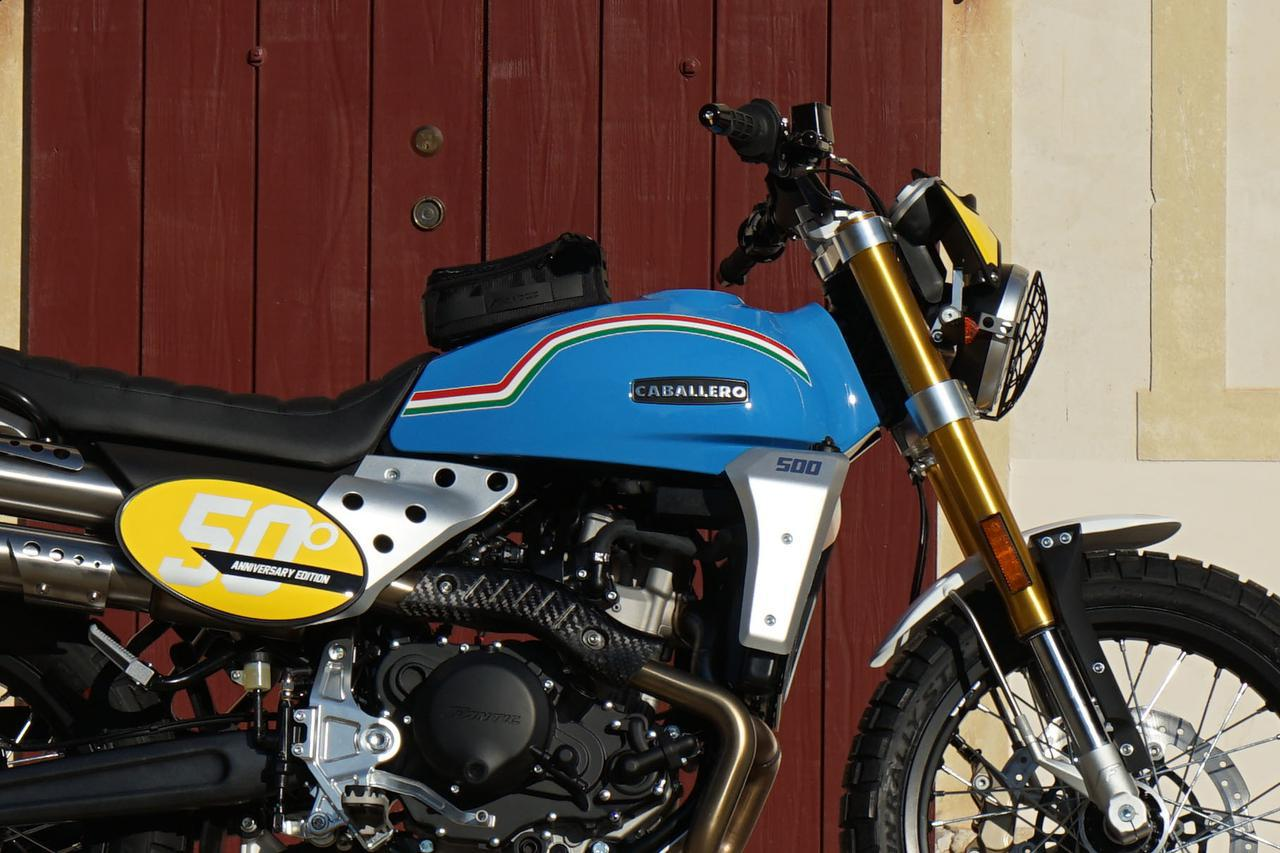 画像: 【新車】ファンティック「キャバレロ スクランブラー 500」に創立50周年を記念したアニバーサリーモデルが登場! - webオートバイ