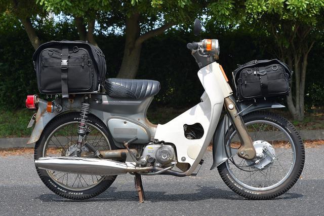 画像: キャンプツーリングシートバッグもオン。最強だ。
