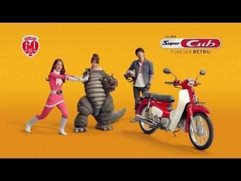 画像: All New Honda Super Cub - Japanese Retro Lover www.youtube.com