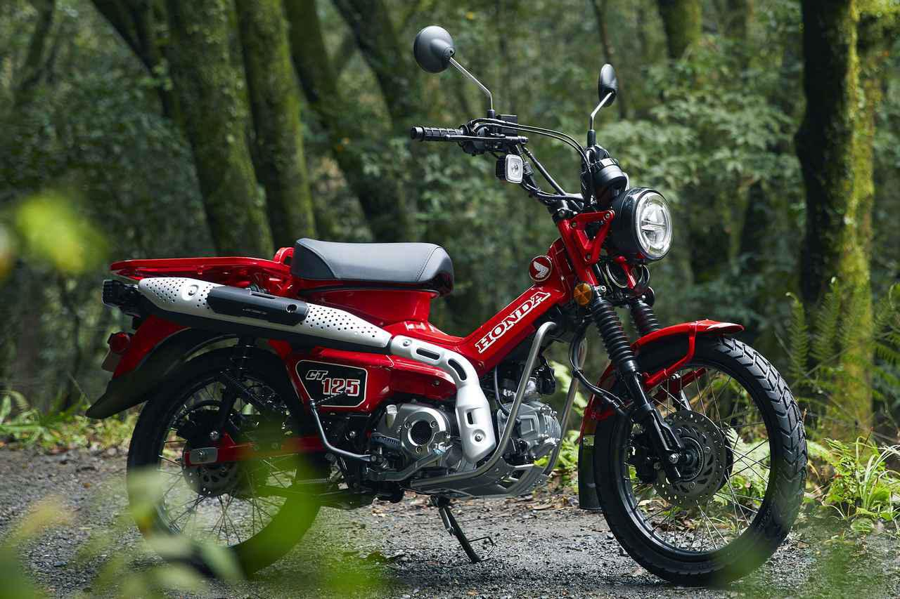 画像: 発売日&価格が決定! ホンダ「CT125・ハンターカブ」情報 - webオートバイ