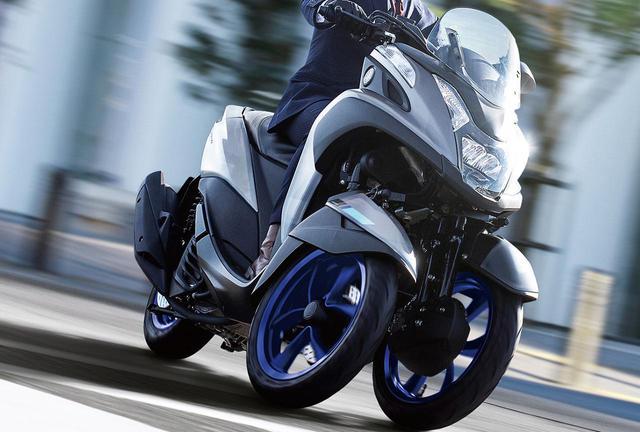 画像: 高速道路も走れるトリシティ! ヤマハ「TRICITY155 ABS」の2020年新色はブルーホイールを採用、発売日は5月15日! - webオートバイ