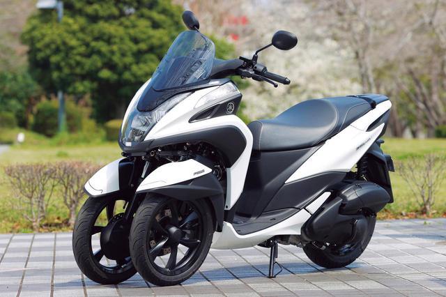 画像1: ヤマハ「トリシティ125」(2020年)解説&試乗インプレ|2018年のモデルチェンジで進化したポイントを徹底レビュー! - webオートバイ