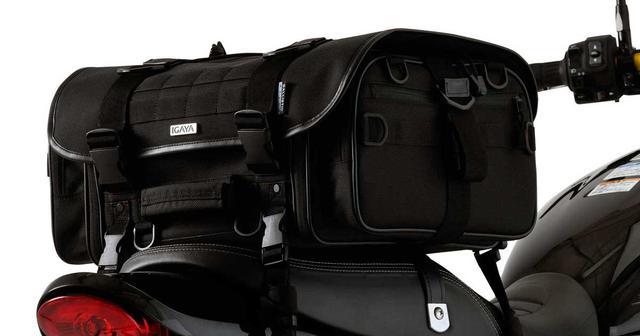 画像: IGAYA ツーリングシートバッグ|PLOTオンラインストア
