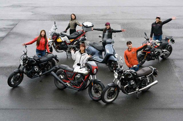 画像: 【女子部キャンツー1/6】MOTOGUZZI 「V7 III Stone」 × Ruriko 編 - webオートバイ