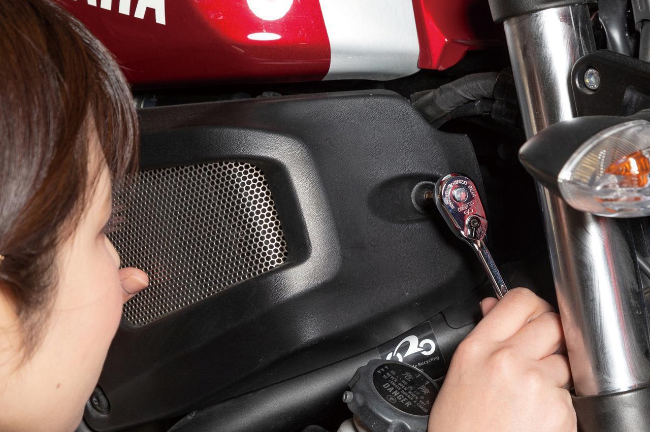 画像: 送り角が4度と細かいことも特長。ハンドルを細かく振れるので誤って車体にぶつけて傷付ける失敗が減る。