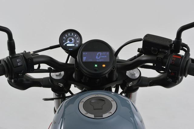 画像2: レブル250にタコメーターをつけたい! 新型&旧型レブルに対応する専用タコメーターキットがデイトナから新発売