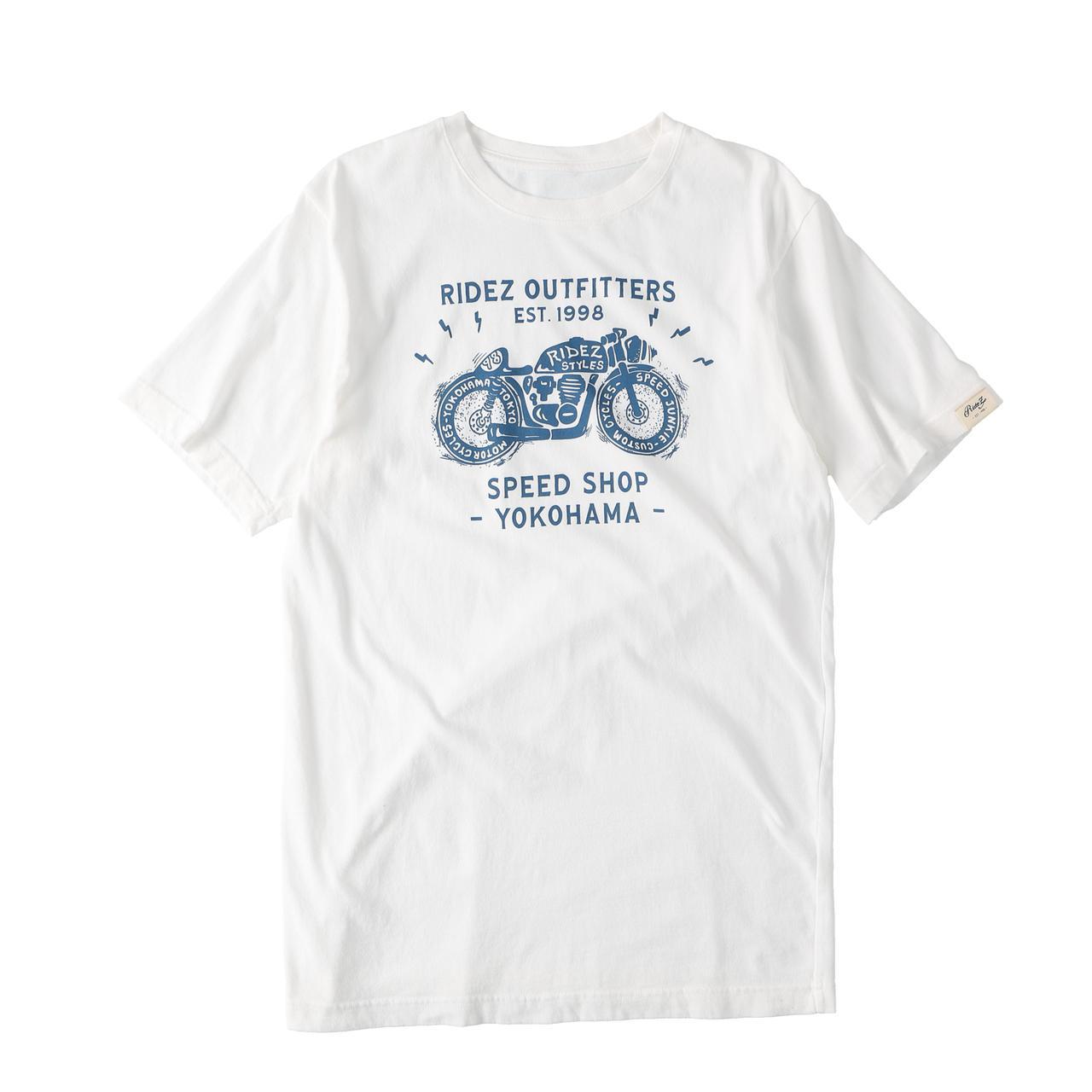 画像8: ライダーの夏。ニッポンの夏。RIDEZから日本製Tシャツの新作が4型・計8種類登場! あなたはどれが好き?