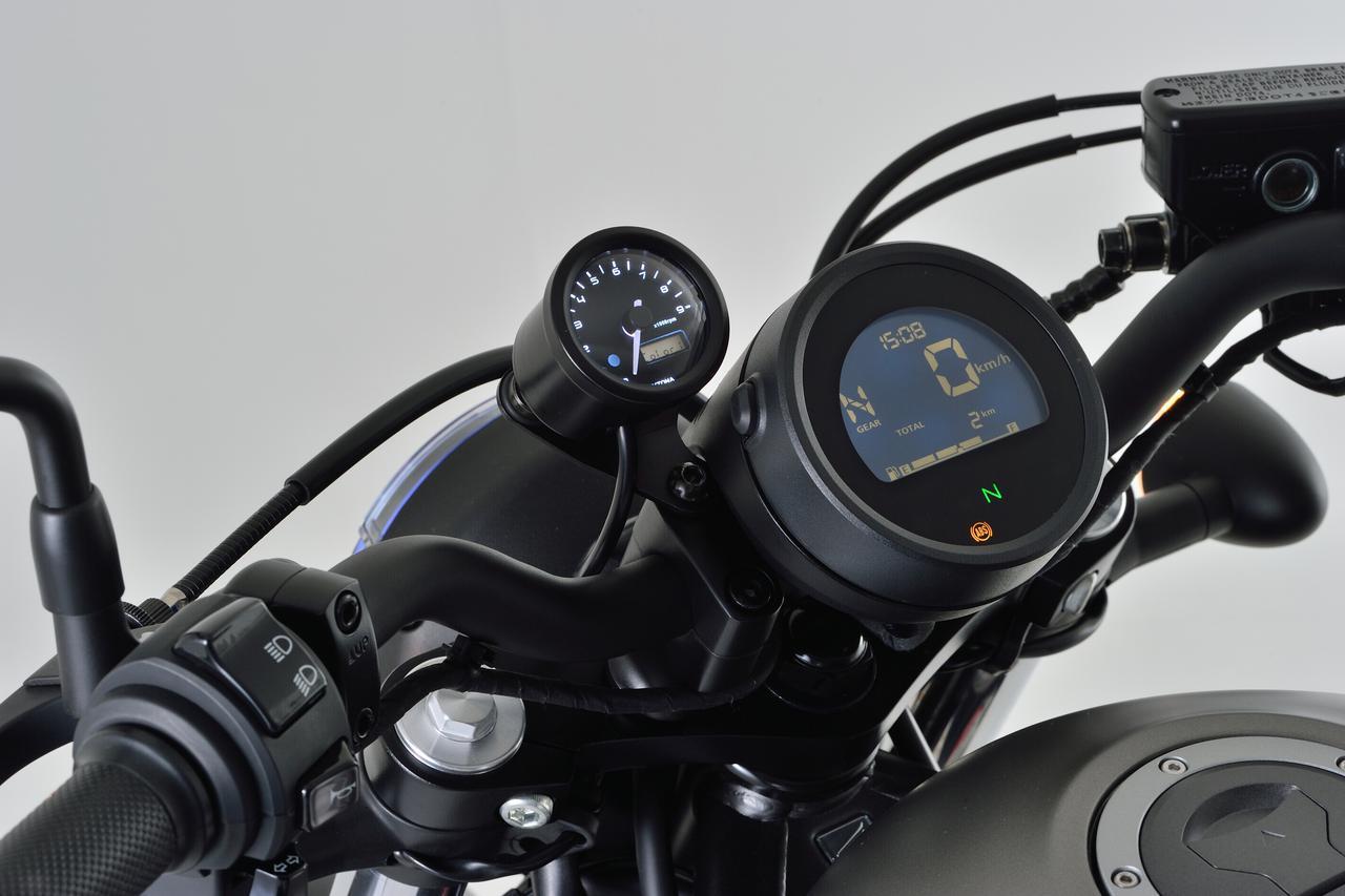 画像11: レブル250にタコメーターをつけたい! 新型&旧型レブルに対応する専用タコメーターキットがデイトナから新発売