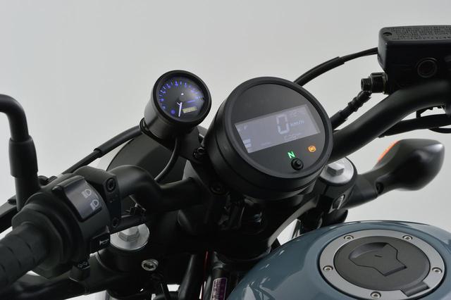 画像5: レブル250にタコメーターをつけたい! 新型&旧型レブルに対応する専用タコメーターキットがデイトナから新発売