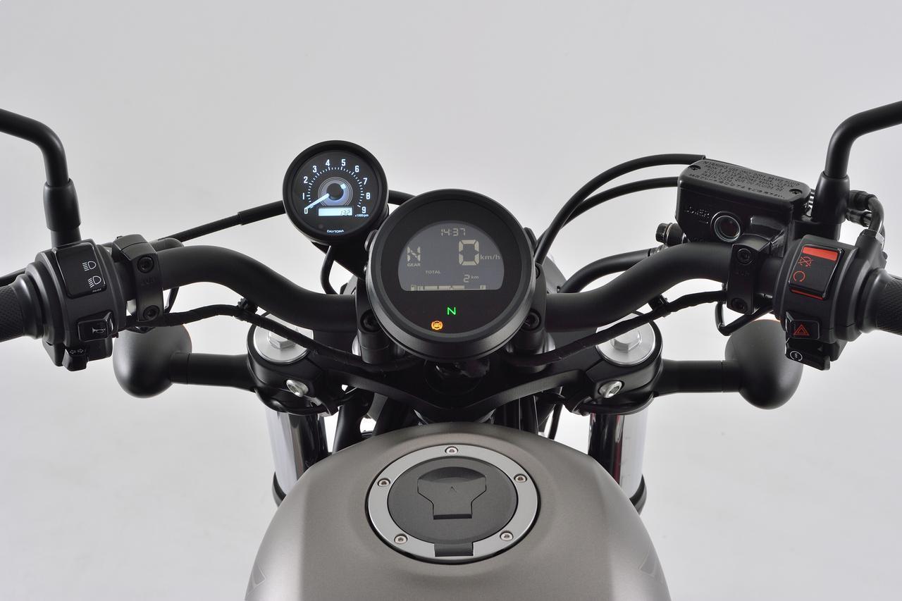 画像: Φ60mm/レブル250(2020年モデル用)タコメーターキット