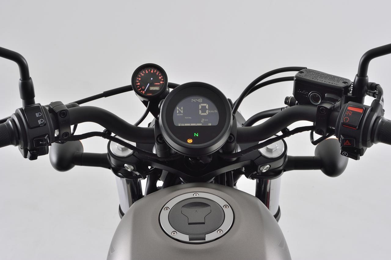 画像: Φ48mm/レブル250(2020年モデル用)タコメーターキット