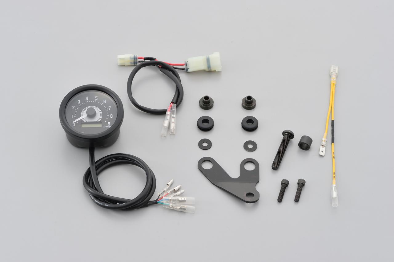 画像10: レブル250にタコメーターをつけたい! 新型&旧型レブルに対応する専用タコメーターキットがデイトナから新発売