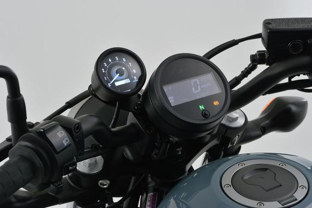 画像1: レブル250にタコメーターをつけたい! 新型&旧型レブルに対応する専用タコメーターキットがデイトナから新発売